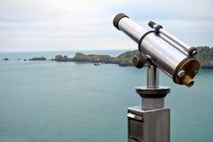 visning för lång räckvidd för avstånd turist- Arkivfoto