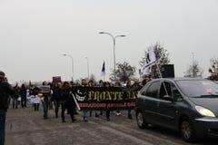 Visoni nazionali di liberazione della processione Immagine Stock Libera da Diritti