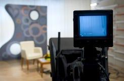 Visor de la cámara de vídeo imagen de archivo libre de regalías