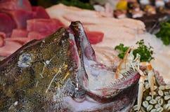 Vissen bij Stadsmarkt Royalty-vrije Stock Afbeelding