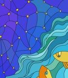 Vissen die de hemel bekijken Stock Foto's