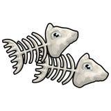 Vissen met het knippen van weg Royalty-vrije Stock Foto's