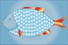 Vissen met schalen Stock Afbeeldingen