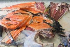 Vissen op ijs op markt Royalty-vrije Stock Fotografie