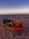Vissenboot Royalty-vrije Stock Afbeeldingen