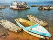 Vissenboot Stock Fotografie