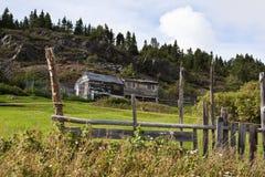 Vissend keten en platteland Stock Foto