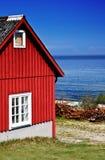 Vissende hut Royalty-vrije Stock Fotografie