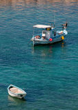 Vissende jachthaven Royalty-vrije Stock Foto