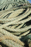 Vissende kabel royalty-vrije stock afbeelding