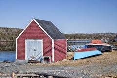 Vissende Loods, Nova Scotia Royalty-vrije Stock Foto's
