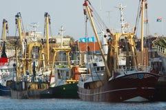 Vissende schepen Royalty-vrije Stock Fotografie