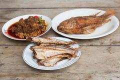 Vissengebraden gerecht Royalty-vrije Stock Afbeelding