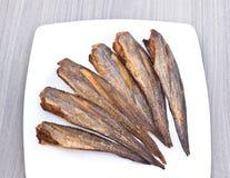 Vissengebraden gerechten Stock Foto's