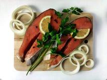 Vissenlapjes vlees Stock Afbeeldingen
