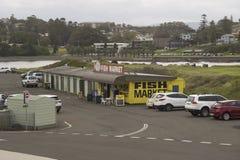 Vissenmarkt, Kiama - NSW, Australië Stock Foto's