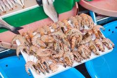 Vissenmarkt & Zeevruchten: Istanboel, Bosphorus Royalty-vrije Stock Fotografie