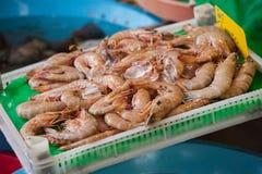 Vissenmarkt & Zeevruchten: Istanboel, Bosphorus Royalty-vrije Stock Afbeelding