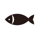 Vissenpictogram royalty-vrije illustratie