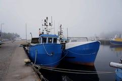 Visser Boat Stock Foto's