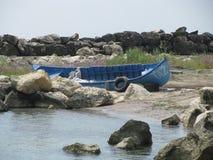 Visser Boat Royalty-vrije Stock Afbeelding