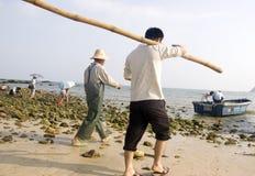 Visser in China Stock Afbeeldingen