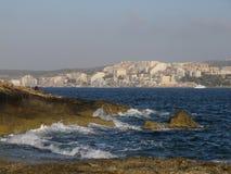Visser in Malta Stock Foto's