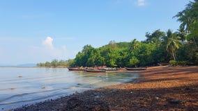 Visser Old Town in de Reis van Koh Lanta Island - van Thailand stock afbeeldingen