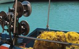 Visserij in de Middellandse Zee Stock Afbeeldingen