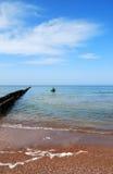Visserij in het overzees Stock Foto's