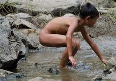 visserij in kinderen Royalty-vrije Stock Afbeelding