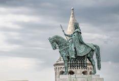 Vissers` s Bastion, Buda Castle, Boedapest Royalty-vrije Stock Foto