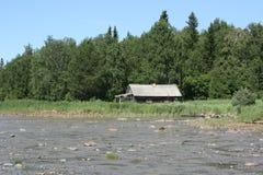 Vissers` s huis stock afbeelding