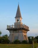 Vissers ` s Memorial Park in Galilee, Narragansett, RI stock afbeelding