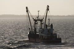 Vissersboot, łódź rybacka fotografia royalty free