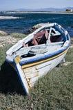 Vissersboot stock afbeelding