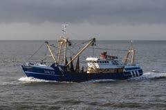 Vissersboot, vissersboot stock afbeeldingen