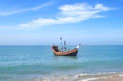Vissersboot stock afbeeldingen