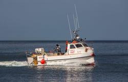 Vissersboot. Stock Foto's