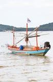 Vissersboot. Royalty-vrije Stock Afbeeldingen
