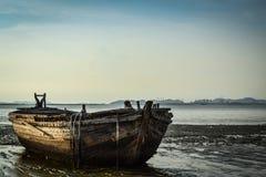 Vissersboot Royalty-vrije Stock Foto