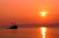 Vissersboot Royalty-vrije Stock Afbeeldingen