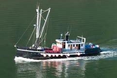 Vissersboot in Alaska Royalty-vrije Stock Foto