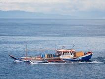 Vissersboot in de Filippijnen Stock Foto