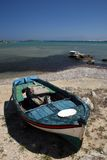 Vissersboot - Griekenland Stock Afbeeldingen
