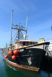 Vissersboot, Narragansett, RI stock foto's