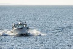 Vissersboot Oude Koet Royalty-vrije Stock Foto's