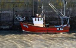 Vissersboot, Padstow, Cornwall, het UK royalty-vrije stock foto