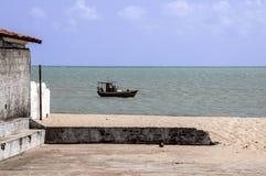 Vissersboot (Pititinga, Brazilië) stock fotografie