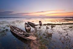 Vissersboot in Thailand Royalty-vrije Stock Afbeeldingen